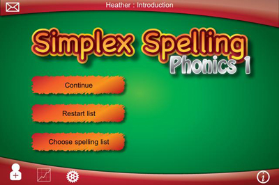 Simplex Spelling Phonics 1 Main Page