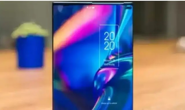 The world's first coming smartphone, seen in video.