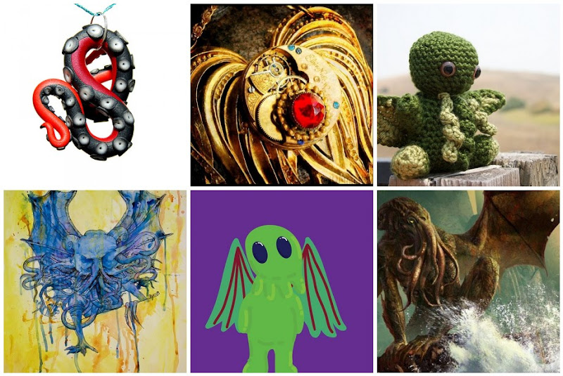 Cthulhu Photo Collage