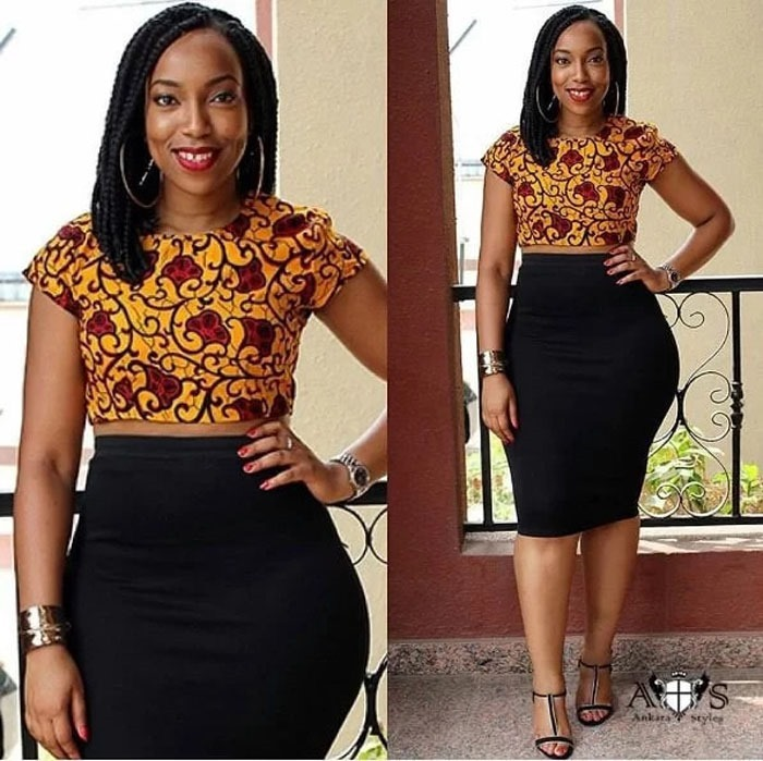 mini ankara short skirts styles (10)