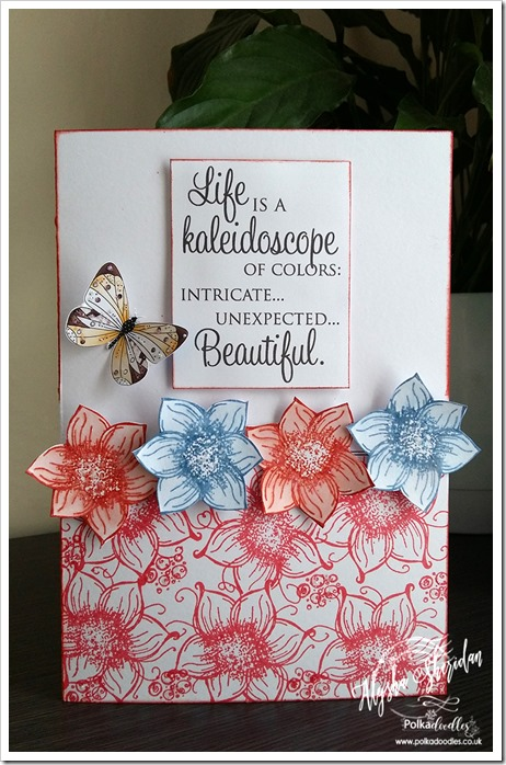card using Summertime stamps
