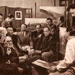 kultira_001_Група львівських художників у майстерні одного з найстаріших українських радянських митців . А. Манастирського.jpg