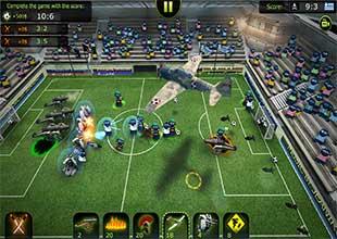 لعبة كرة قدم فوتبول
