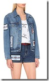 Boy London Patch Applique Denim Jacket