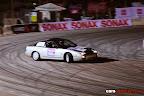 Silver Nissan Drifting