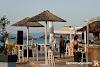Кафе Arfi, плаж Платаници, Ситония