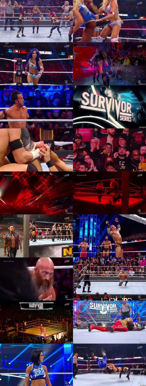 Screen Shot Of WWE Survivor Series 24th November 2019 HDTV 480P 300MB