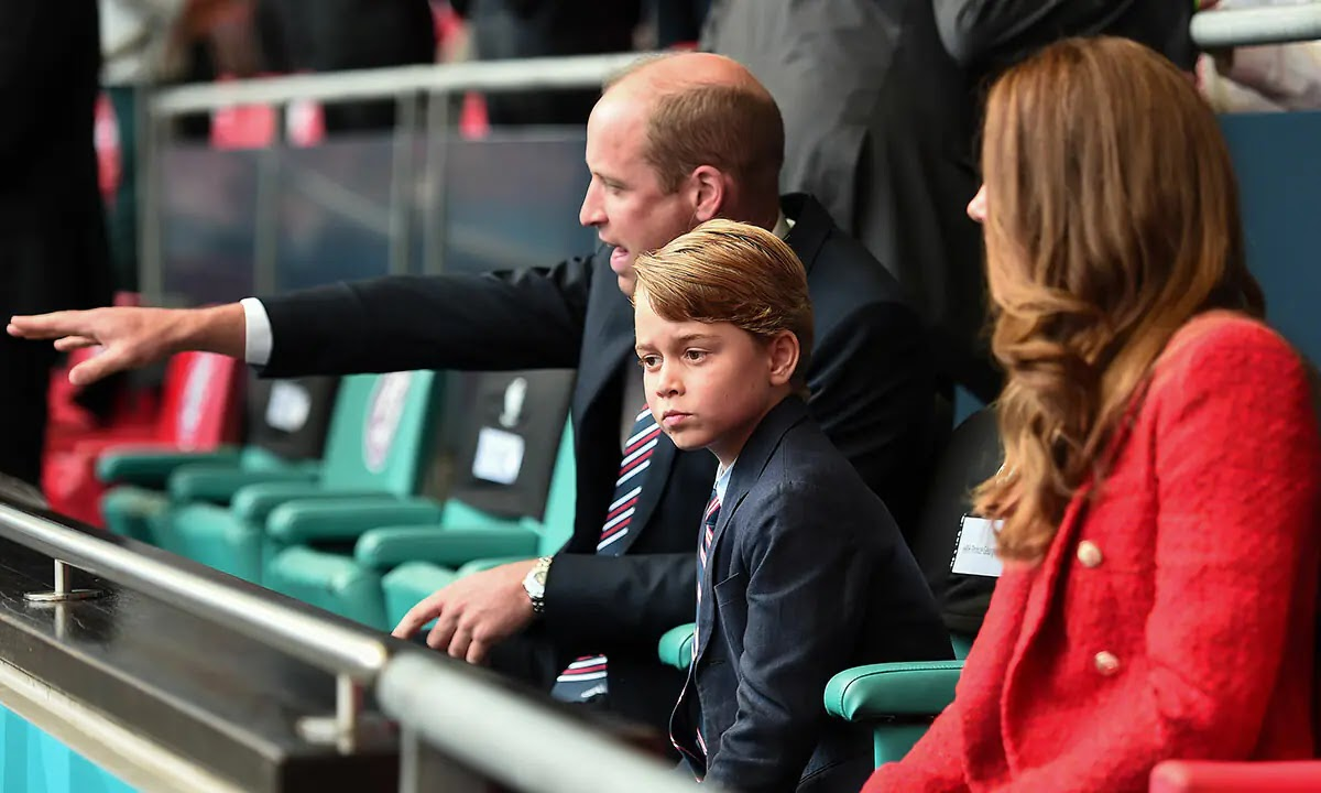Why Prince George Didn't Join Prince William at England Semi-Final