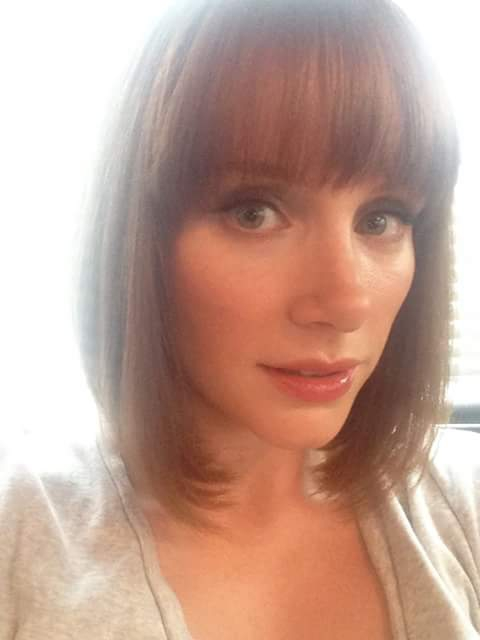 Bryce Dallas Howard selfie picture