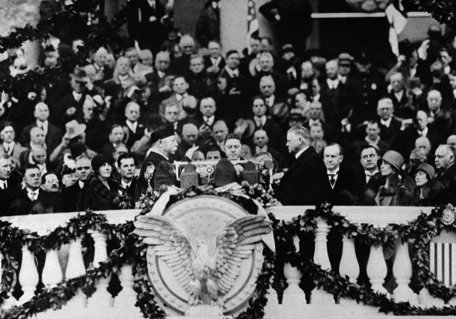 1929  Hoover inauguration