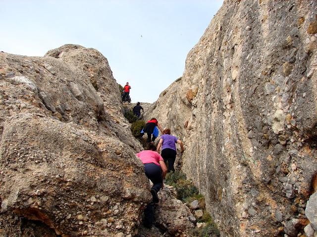 senderismo - Peñarroya de Tastavins - Salt de Ferri - Roques de Masmut