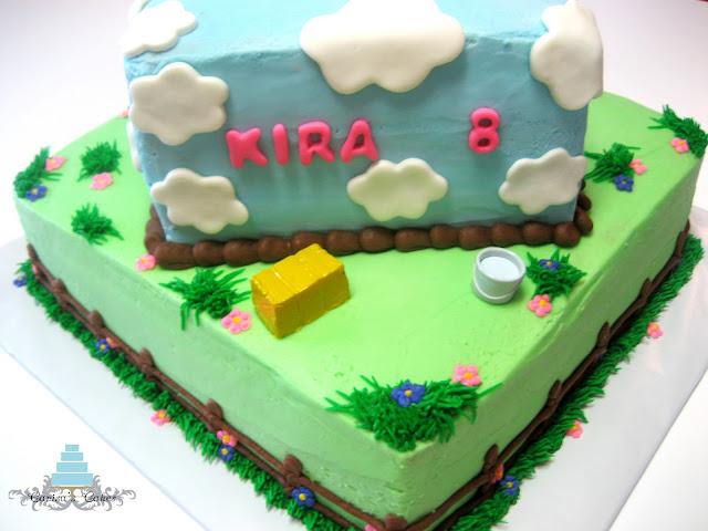 Birthday Cake Horse. Horse Themed Birthday Cake