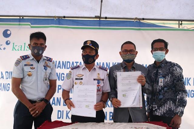 Permudah Pembayaran KIR, Bank Kalsel Teken MoU dengan Dishub Banjar