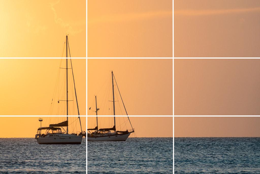 三分構圖法──攝影基本構圖|九宮格構圖