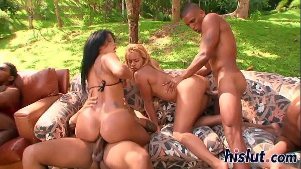 EVASIVE ANGLES Hot Latin Pussy Orgy