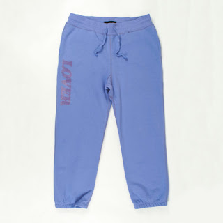 "BianCa Chandon Purple ""Lover"" Sweat Pants"
