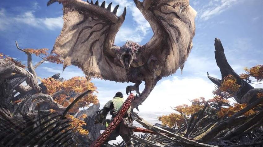 Monster Hunter: World sta in arrivo un aggiornamento ad alta risoluzione per PC