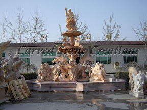 carved stone, Estate, Fountain, Ideas, Natural Stone, Pool Surrounds, Statuary, Statues, Tiered