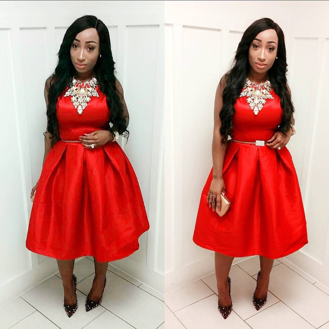 LATEST RED DRESS STYLES FOR AMAZING LADIES IN THIS SUMMER SESSION 3