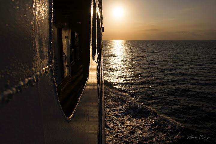 Landscape di atas Kapal Ferry