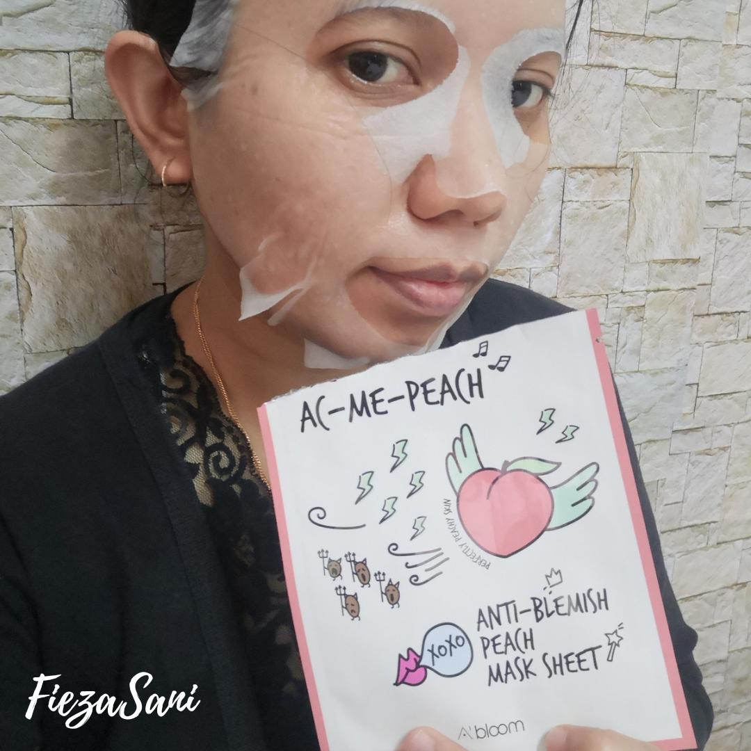khasiat buah peach untuk kecantikan,mask peach