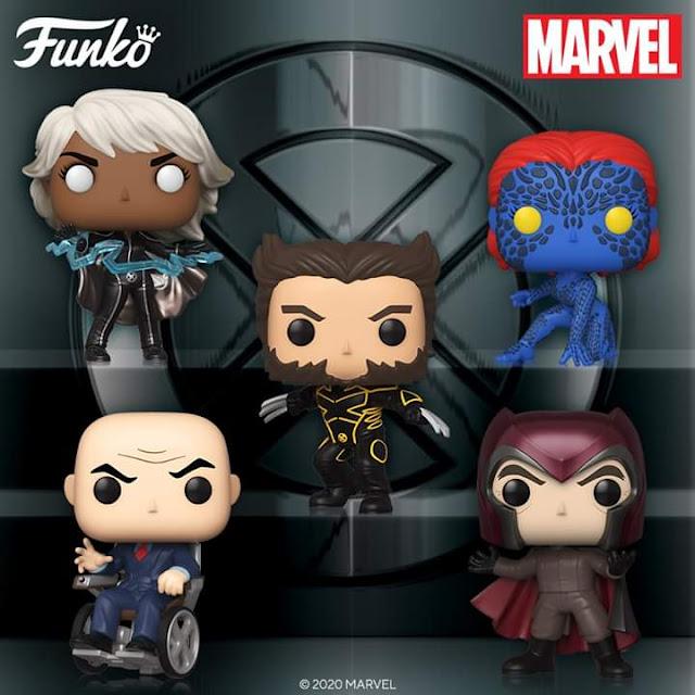 Funko Pop Marvel X-MEN 20th Anniversary