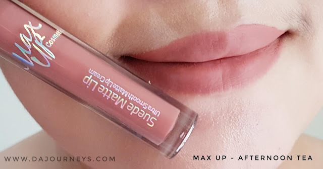 Review Afternoon Tea by Max Up Cosmetics