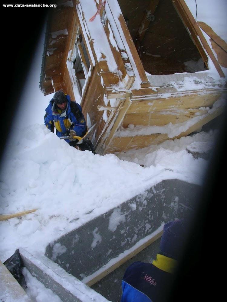 Avalanche Mont Thabor, secteur Rocher d'arrondaz, Roche Noire - Photo 1