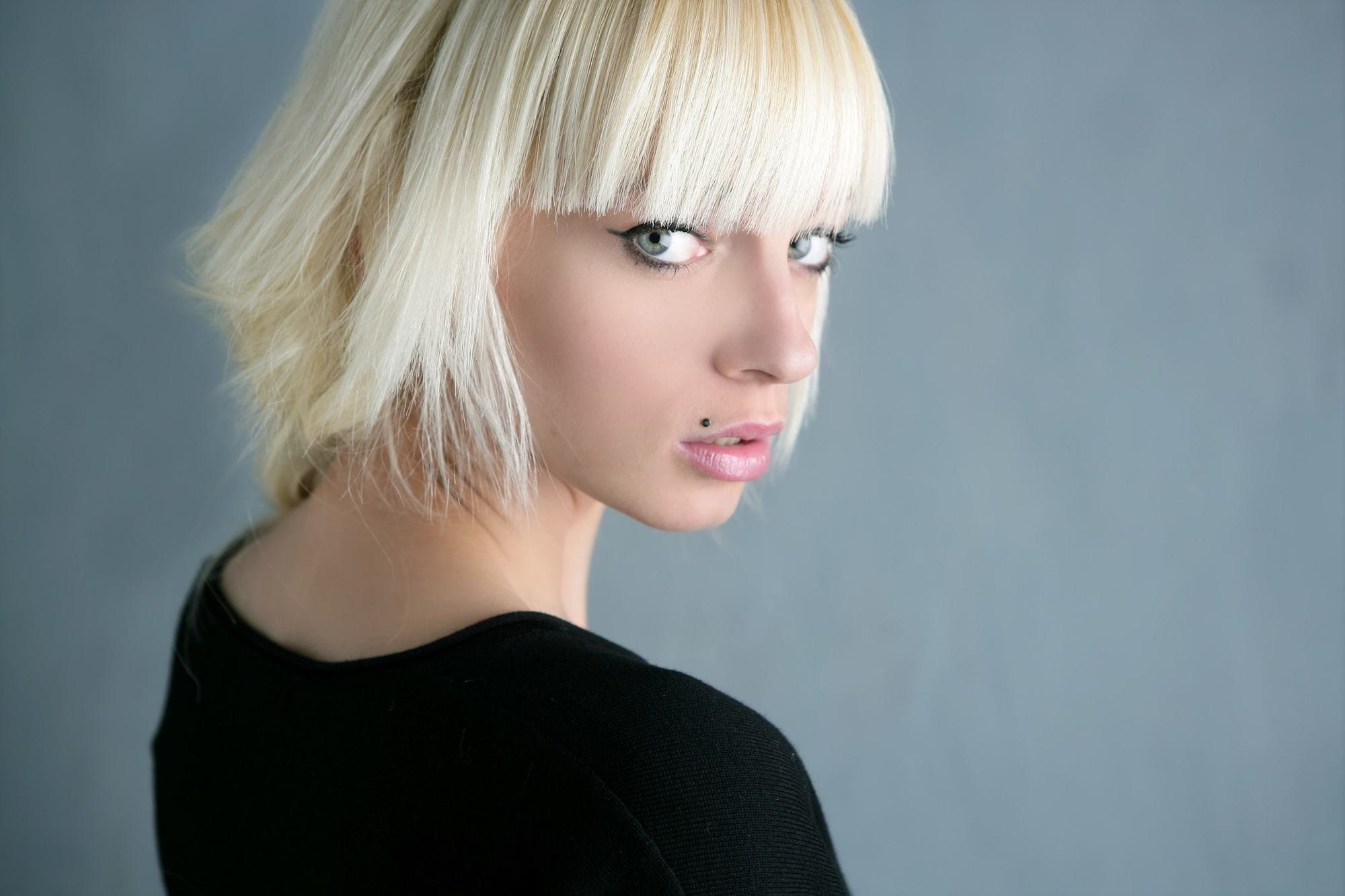 Latest Edgy Short Bangs For Angled Faces-20 Looks to Try 8