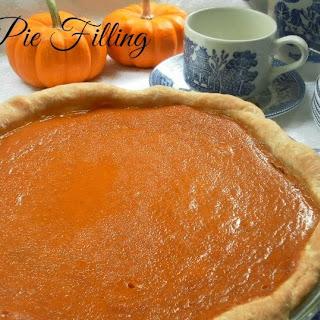 The BEST Pumpkin Pie Filling Recipe
