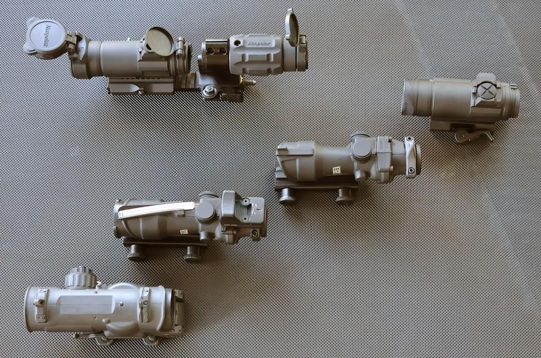 Combinaison SIG 553 + Eotech 553 + magnifier  _DSC1219