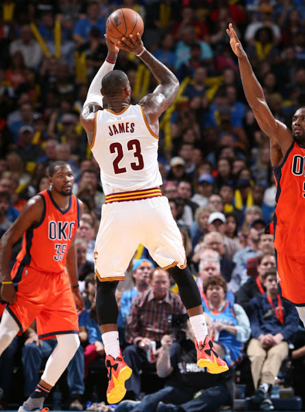James Channels The Land with New LeBron 13 PE in Cavs Win