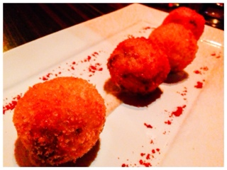 Spice lounge and tapas risotto balls