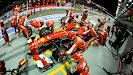 Felipe Massa, Ferrari F138 pit stop