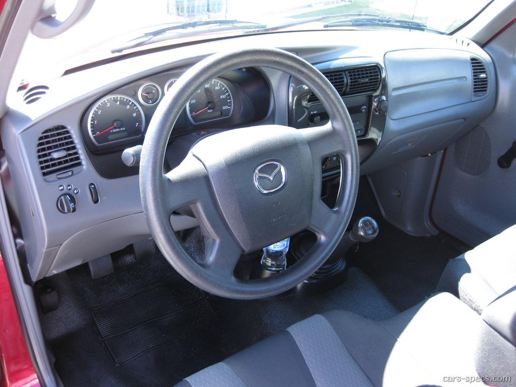 2008 mazda b series truck regular cab