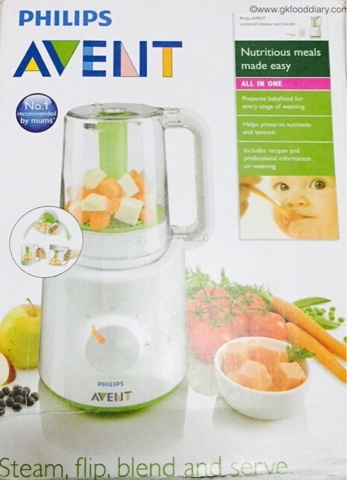 philips avent combined steamer and blender review carrot. Black Bedroom Furniture Sets. Home Design Ideas