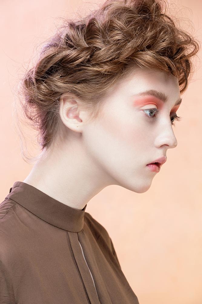 Long hair with Makeup