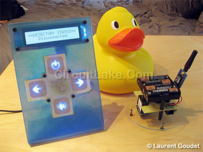 wireless pool alarm project pic18F23K20