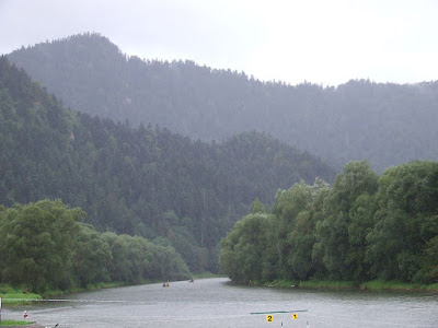 raining in Pieniny mountains