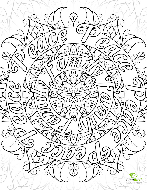 Peace Sign Coloring Pages Picture  Is Beautiful