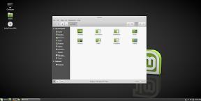 Probar Linux sin instalar desde un Live USB. El explorador de archivos.