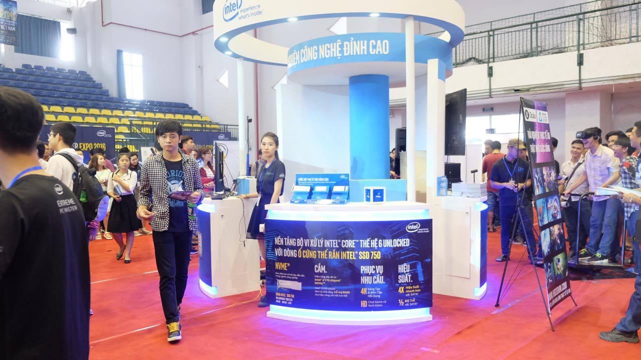 Intel ra mắt cpu Core i7 cho PC mạnh nhất hiện nay tại Lễ hội trình diễn máy tính lớn nhất VN