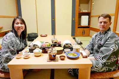 Japan Travel: Dining at a Ryokan