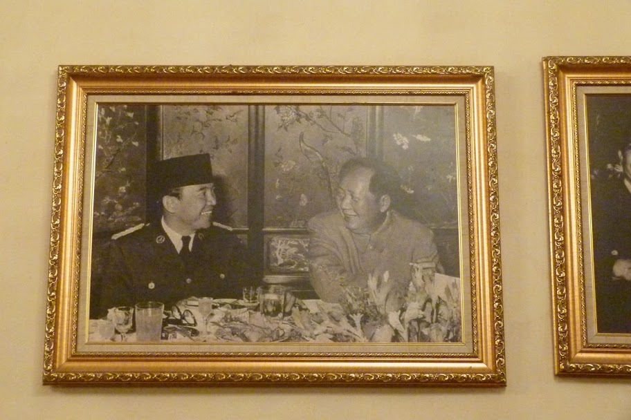 With Mao Zedong