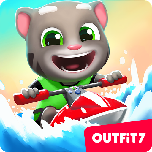 Talking Tom Jetski 2 game (apk) free download for Android/PC/Windows