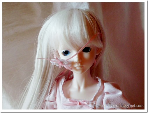 Ball Jointed Doll Hair Accessory Malfunction