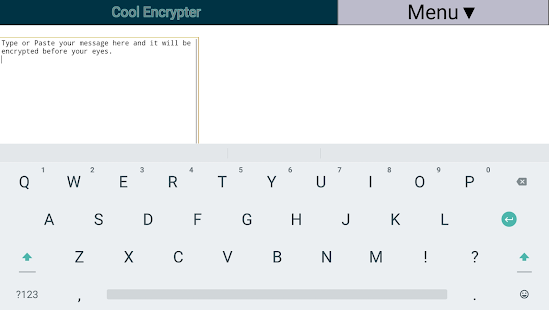 Cool Encrypter- screenshot thumbnail