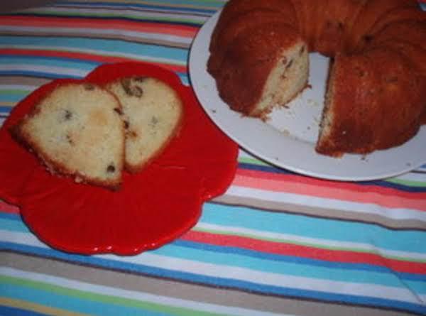 Chocolate Chip Streusel Coffee Cake Recipe
