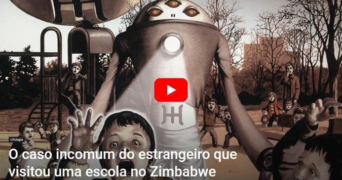 ZIMBABWE EXTRATERRESTRES VISITAM ESCOLA E APAVORAM TODOS