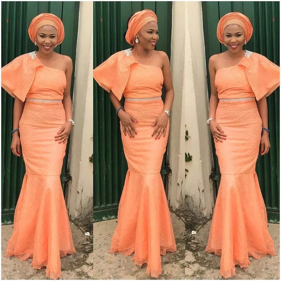 Latest Aso Ebi Styles Dresses For African Woman 2